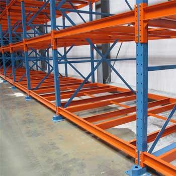 Rack warehouse shelving