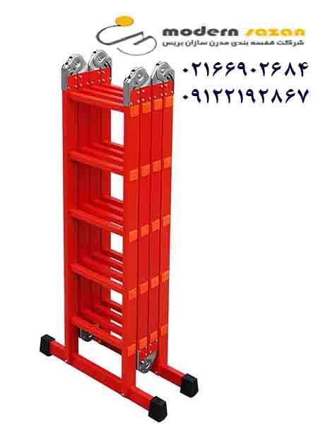 نردبان مفصلی دوتیکه و چهارتیکه